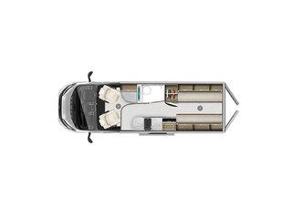 V-Line 635SE Floorplan