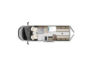V-Line 636SE Floorplan