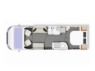 Majestic 250 Floorplan