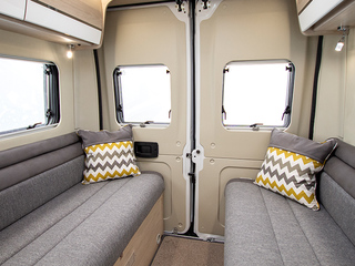 Benivan 120 Rear bench seating