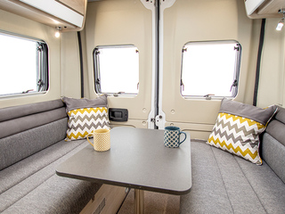 Benivan 120 Rear lounge with table