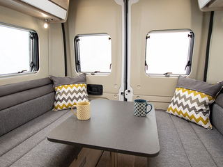 Benivan 122 Rear lounge with table