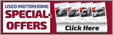 Used Motorhome Special Offers