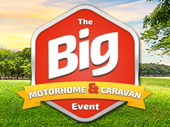 Final day of the BIG Motorhome/Caravan Events in Lancashire and Hampshire!