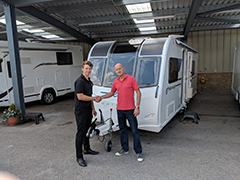 Surrey Found the Perfect First Caravan