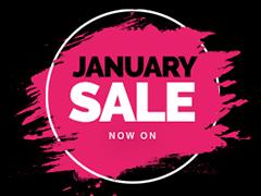 Massive January Sale Starts TODAY!