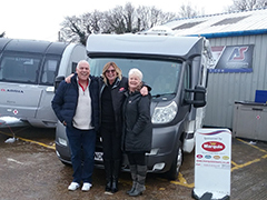 Great Guarantee for their First Motorhome