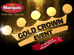 Gold Crown Event at Marquis Durham!