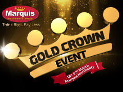 Don't Miss our Gold Crown Event at Northampton!