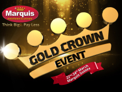 Our Gold Crown Event Begins at Marquis Sussex