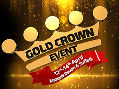 The Gold Crown Event is coming to Marquis Devon & Suffolk this weekend!