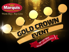 Don't Miss the final day of the Gold Crown Event in Hampshire & Gloucestershire!
