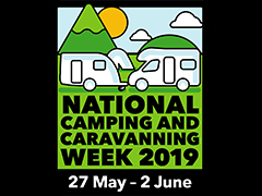Celebrate  National Camping and Caravanning Week 2019