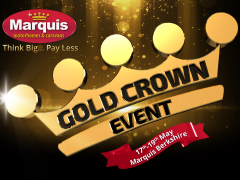 Our Gold Crown Event is ending today!