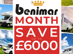 Your Last Chance to save up to £6000 in our Benimar Sales!