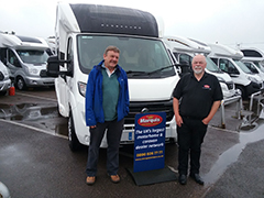 Bessacarr was the Perfect Pre-Loved Motorhome