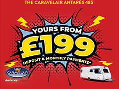 The Antares 485 Could Be Yours from £199!*