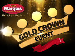 Prepare For Our Gold Crown Events!
