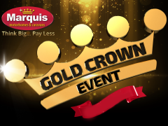 OUR GOLD CROWN EVENTS CONTINUE THIS WEEKEND!