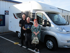 IMPRESSIVE RANGE OF PRE-LOVED MOTORHOMES