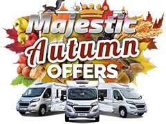 Majestic...King of the Road Autumn Offers!