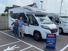 First time motorhomers choose Marquis for its 'good reputation'!