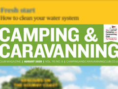 CAMPING & CARAVANNING MAGAZINE: OUT ON THE FORECOURT