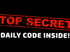 CADAC GIVEAWAY: Today's secret code!