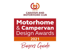 Star Ratings for our Mobilvetta models in the Caravan & Motorhome Club Buyers Guide 2021