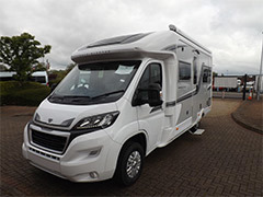 The all-new Auto-Sleepers Broadway EL is on display at Marquis Northants
