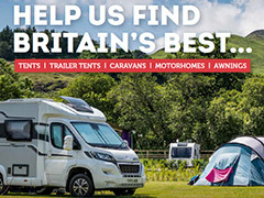 Win a Camping & Caravanning Club site holiday!