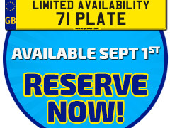 Reserve your 71 Plate Motorhome today!