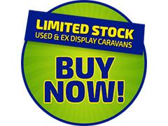 Limited Stock - Used & Ex Display Caravans