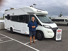 A new motorhome for an avid UK and Europe tourer