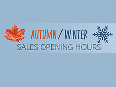 Autumn/Winter Opening Hours
