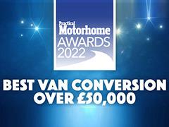 Benivan 122 wins best van conversion over £50,000