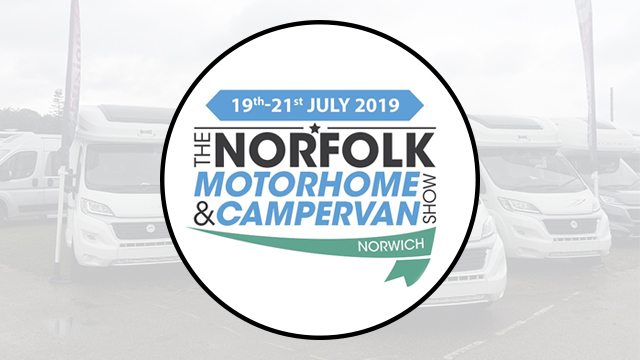 The 2019 Norfolk Motorhome and Campervan Show Starts Today!
