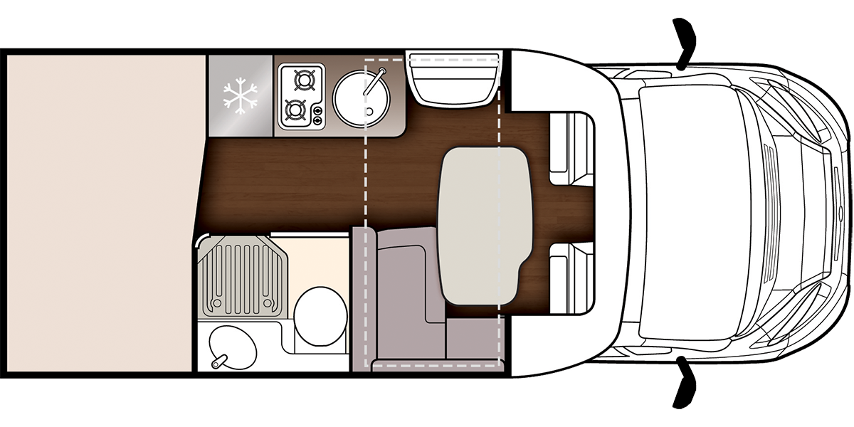 Fusion 331 day floorplan