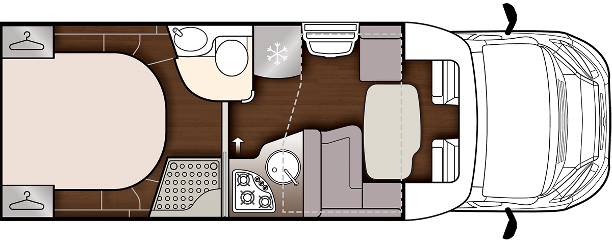 Fusion 367 day floorplan