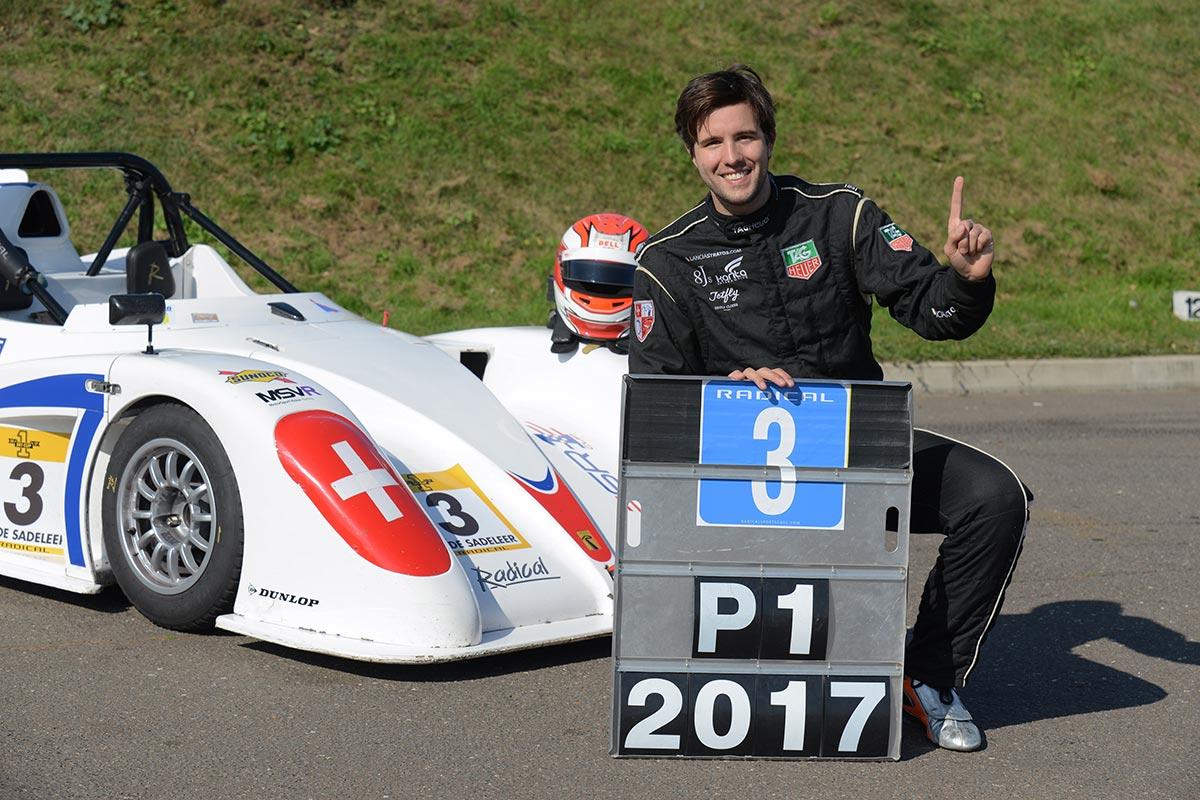 Jérôme de Sadeleer Crowned 2017 Radical SR1 Cup Champion