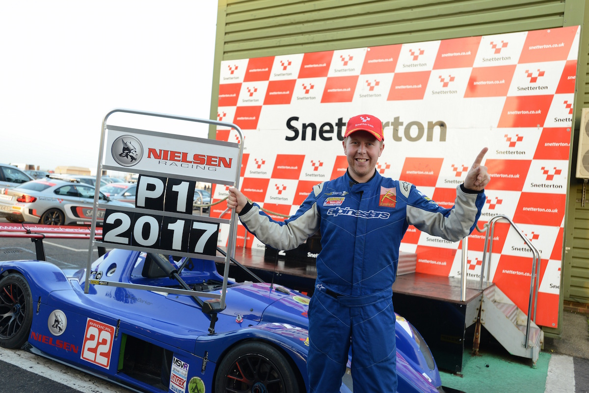 Oliver Barker Seals 2017 Radical Challenge Championship Crown