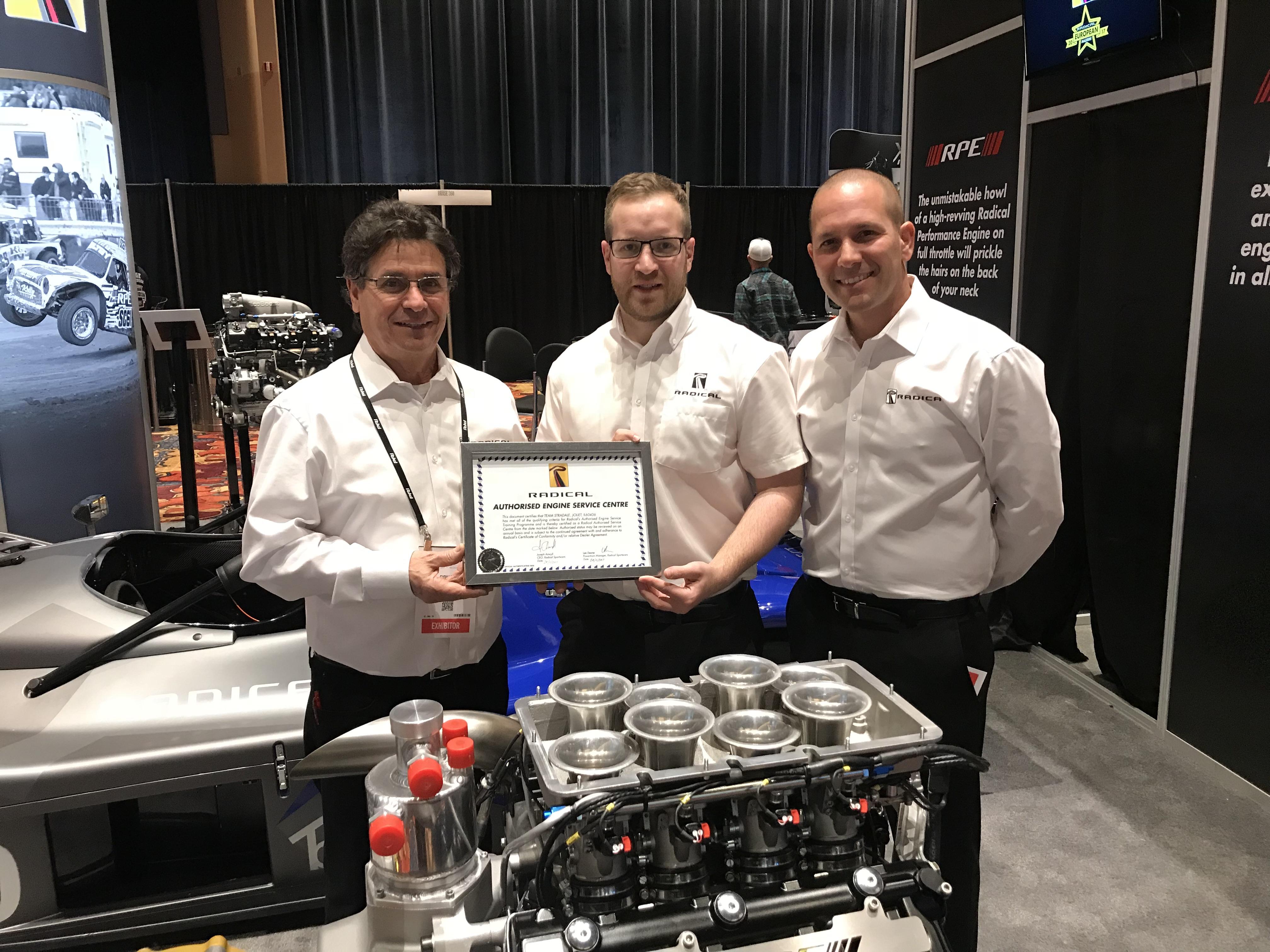 USA Mid West dealer Team Stradale now Authorised Engine Service Center