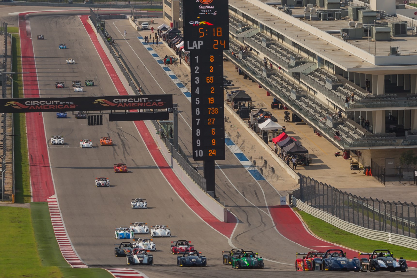 Join Radical Texas at COTA for their Race Welcome Party