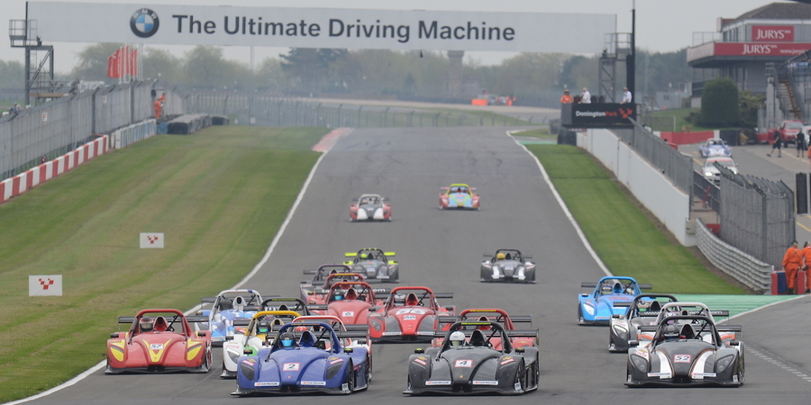 Donington park challenge season opener start web
