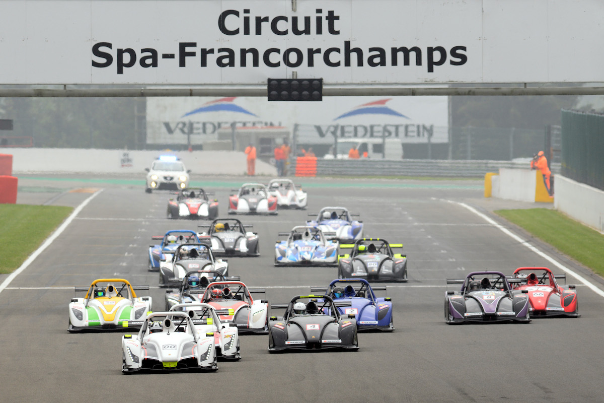 Jackson Takes Dominant Maiden Challenge Win at Spa
