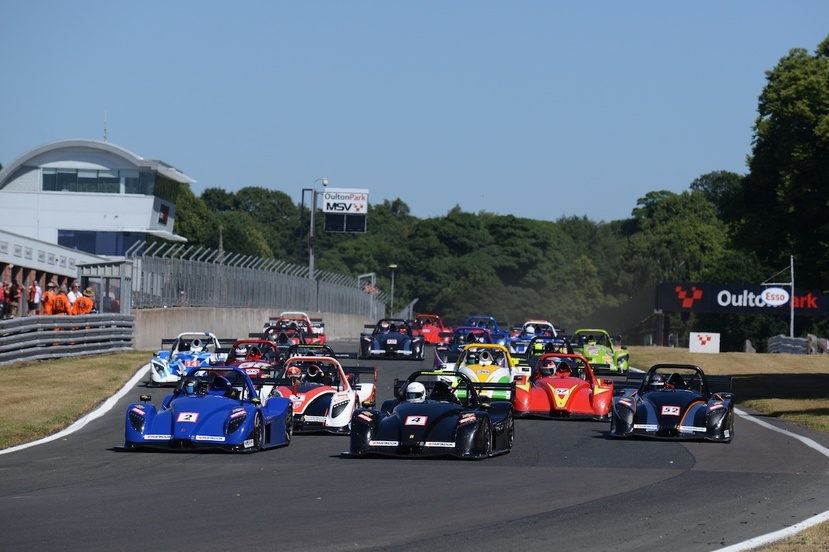 Oulton park challenge race 1 start  w eb