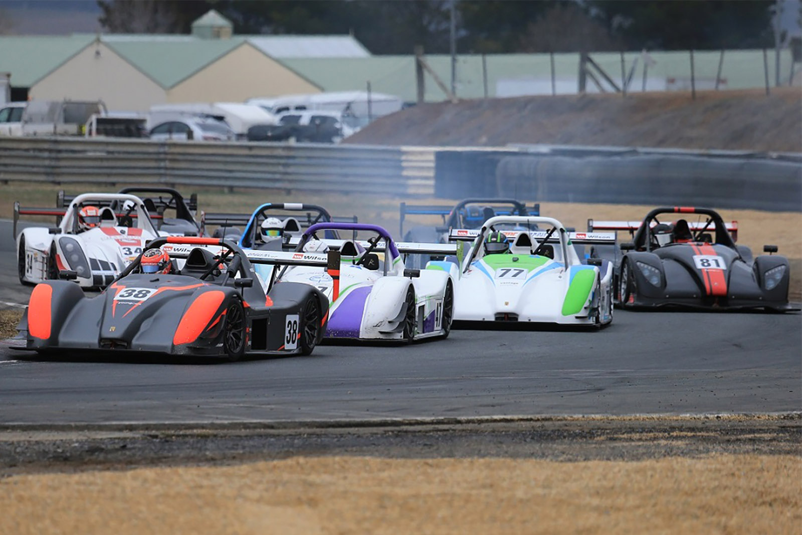 Big weekend at Wakefield Park for Radical regulars