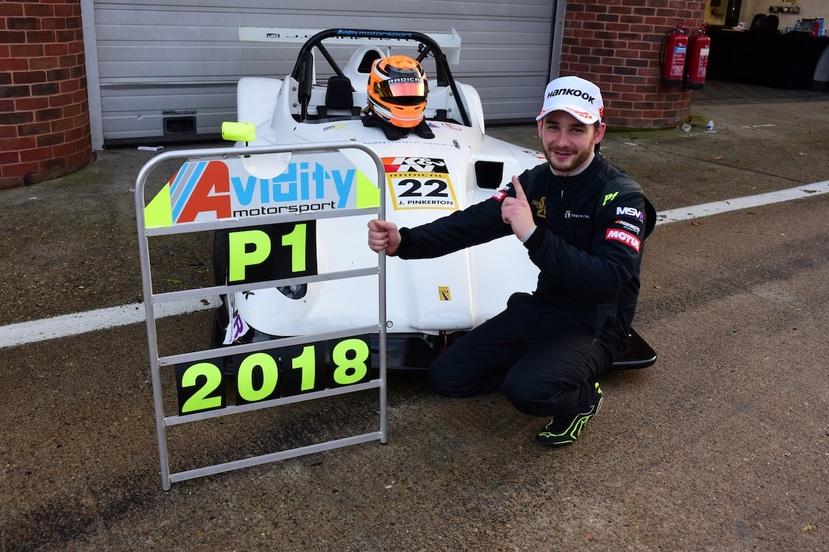 James pinkerton radical sr1 cup champion 2018