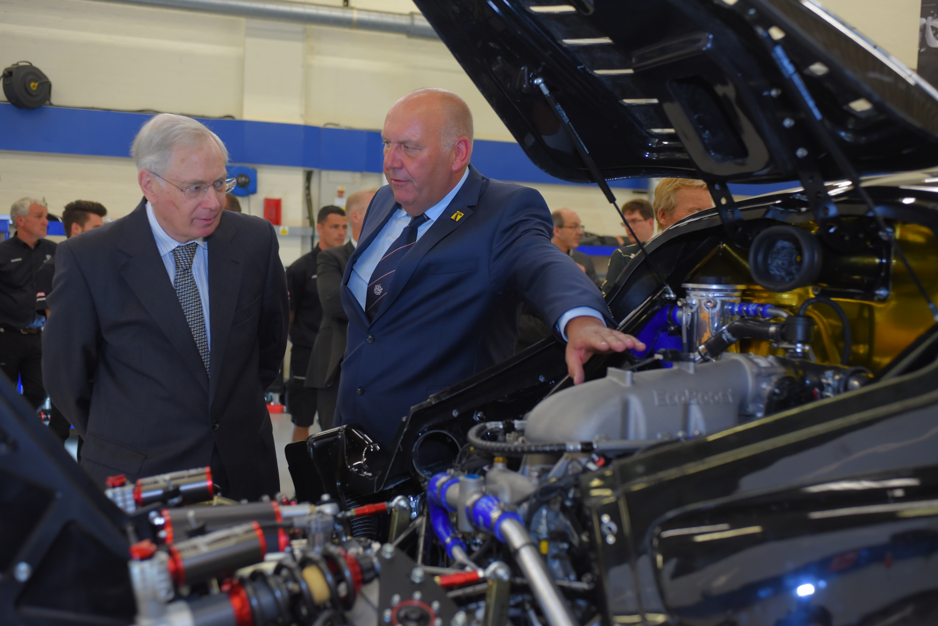 HRH The Duke of Gloucester opens new road-car production centre at Radical Sportscars' Peterborough HQ