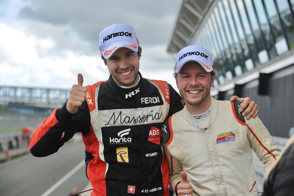 Three races. Three drivers. One Radical Challenge title